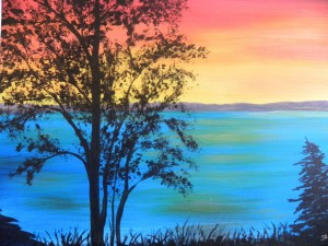 paint night www.artfun.ca Sandra Paint Night www.artfun.ca