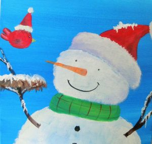 Art Fun Paint Night Welcome Winter