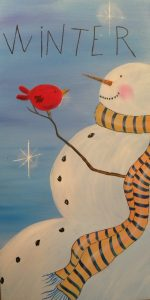 Art Fun Paint Night Winter