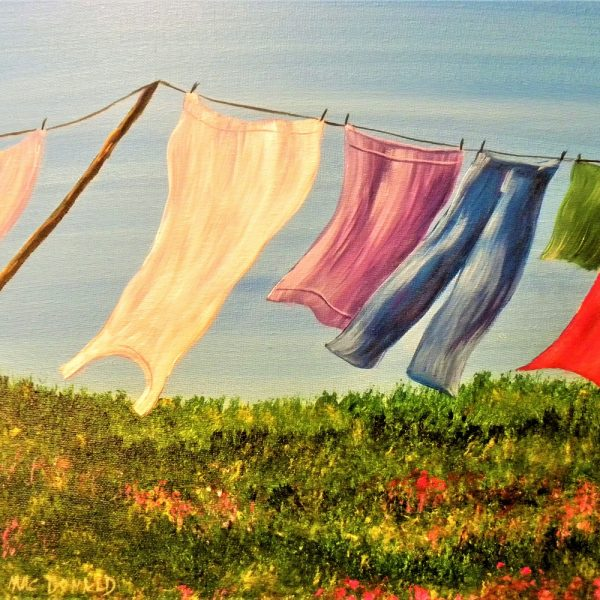 Blue Skies and Laundry Days