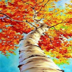 Autumn Fall Tree Art Fun Teen Paint Night https://sandramacdonald.com/art-fun/