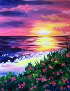 sandra's ART FUN paint nights