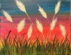 Barley Days paint night www.artfun.ca