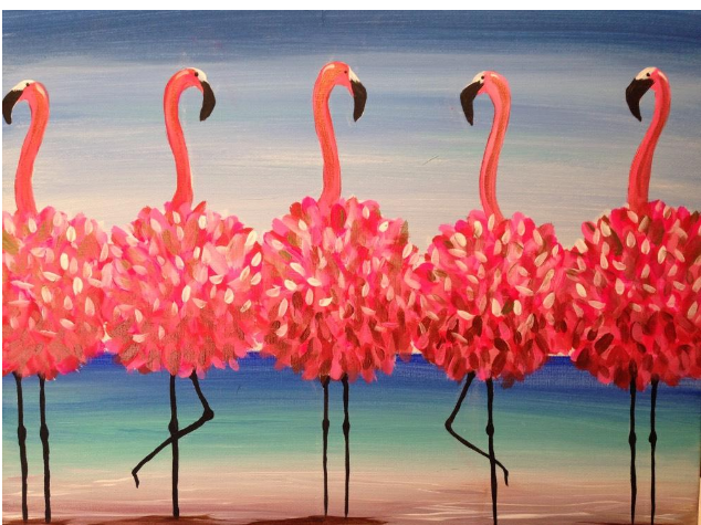 OOH LA LA Art Fun Paint Night