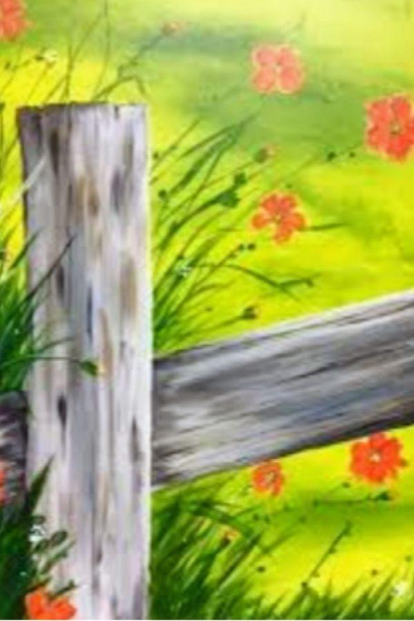 Dal AC Paint Night Fence